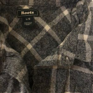 Roots Tops - ROOTS women's flannel